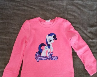 Personalized Rarity Little Pony