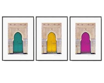 "3 Darbar Islamic Print - Modern Islamic Wall Art - Instant Download - A4 and 8 x 10"""