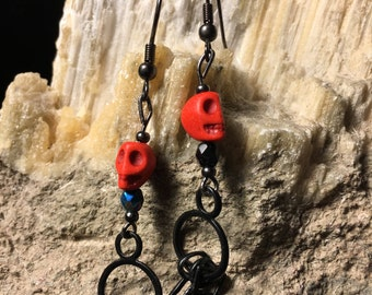 Skeleton Key Earrings