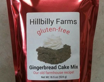 Gluten Free Gingerbread Cake Mix
