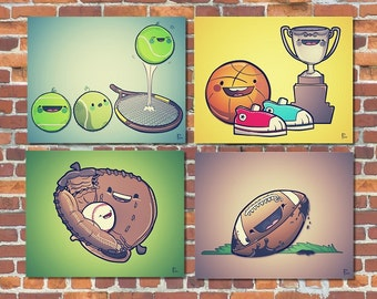 Printable Art | Sports Nursery Prints | Instant Download Printable Art: Kids Wall Art,  Nursery Wall Art