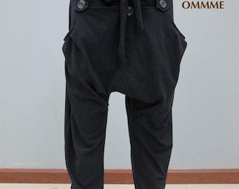Harem pants 002 (black)
