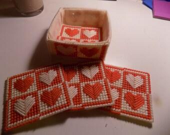 Heart Quartet Coasters