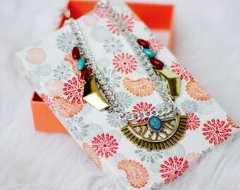 Necklace ear set