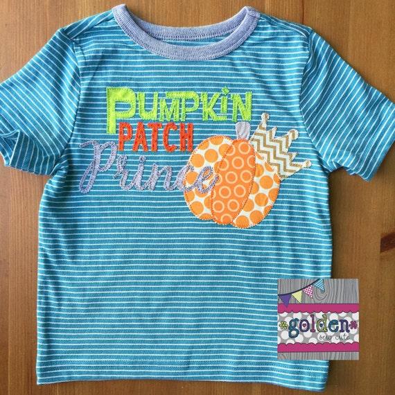 Halloween Pumpkin Patch Prince, Pumpkin Crown Boy Tee, Boy Shirt, Onesie