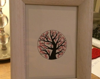 Tree illustration (A5)