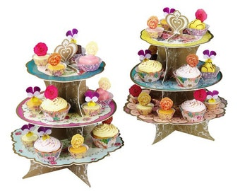 Beautiful Three Tier Truly Scrumptious cake stand