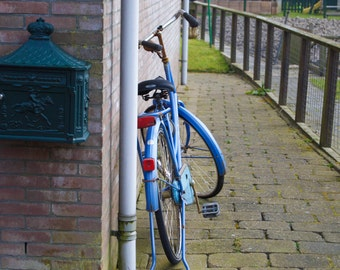 Blue Bicycle, Amsterdam