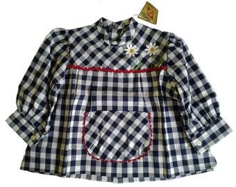 blouse child vintage 70s