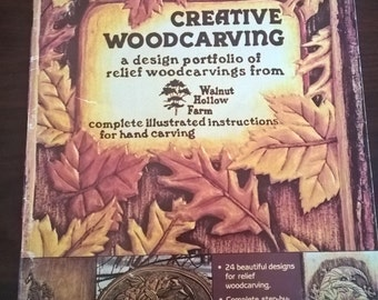 Vintage Creative Woodcarving Magazine  **FREE SHIPPING**