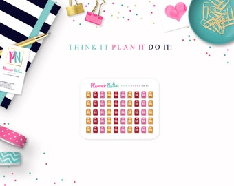 Cat Food Planner Stickers - Kitty Planner Stickers Pet Food Perfect for Erin Condren, Happy Planner, Filofax, Plum Planner, Kikki K