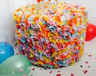 Birthday cake pinata!