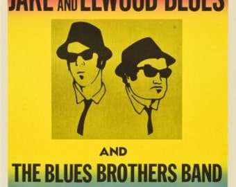 The Blues Brothers Movie Poster Reproduction bluesbrothersposter01