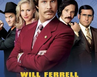 Anchorman Movie Poster Reproduction anchormanposter01