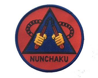 Vintage 'Nunchaku' Karate Patch