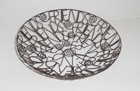 Fair Trade Home Decor Metal Basket India Home Accessories