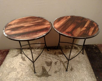 Handcrafted End Tables