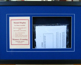 Canadian/Commonwealth DIY Military Medal Framing Kits