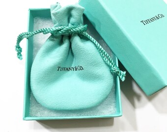 TIFFANY Box w/Pouch & Ribbon