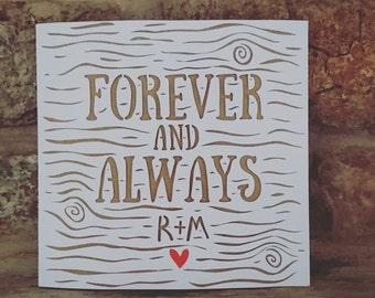 Wedding Papercut Card