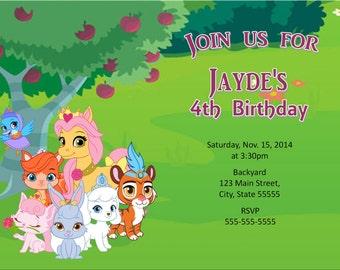 Whisker Haven party, Whisker Haven invite