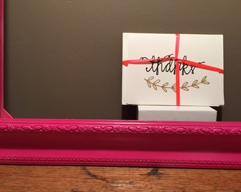thank you note cards (set of 4, with envelopes)