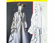 2005 McCall's Costumes 4997 Misses' Renaissance Dresses/Costumes with Lace Up Front, OOP, Uncut, Sewing Pattern Size 14-20