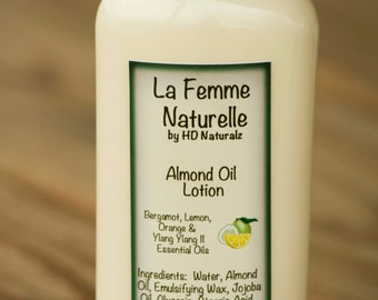 Bergamot Lemon Orange Skin Cream for Dry Chapped Skin, 100% Vegan Moisturizer, Intense Moisture Hand and Body,  Ezcema Relief, 4 oz