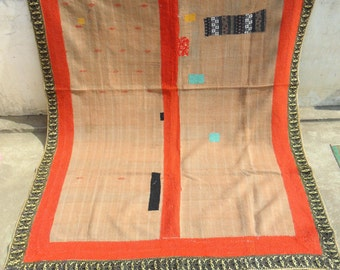 vintage kantha quilts / rugs