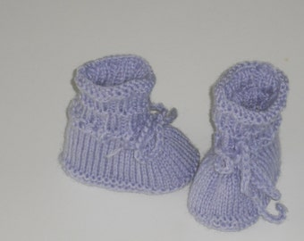 Baby shoes - shoes - baby shoes - push - hand work - sole length 6.5 cm