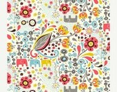 ON SALE ORGANIC Cotton, Birch Fabrics, Frolic Girl, Frolic collection, 1 yard