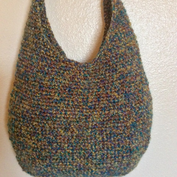 Crochet Hobo Bag : Crochet Hobo Purse Handbag by Boutique528 on Etsy