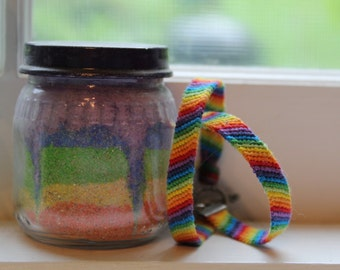 Rainbow Woven Friendship Bracelet