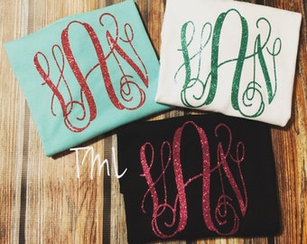 Kids Monogrammed Shirts/ Toddler shirts Long sleeves