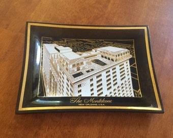 Monteleone Hotel Ash Tray Candy Dish Key Tray New Orleans Louisiana