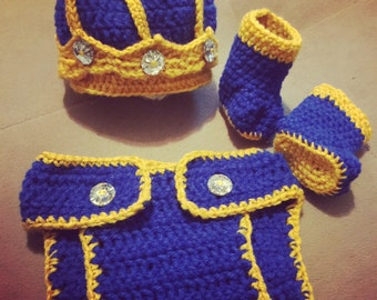 Royal king outfit