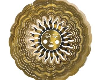 Next Innovations Antique Gold Sun Face Eycatcher, Medium