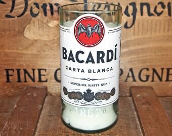 Upcycled Bacardi Candle