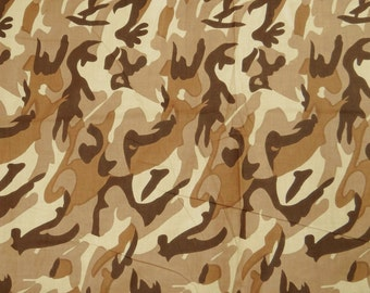 """Pillow Dress Curtain Fabric, Abstract Print, Beige Fabric, Designer Fabric, 43"""" Inch Cotton Fabric By The Yard ZBC1053"""