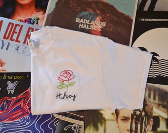 Halsey Rose Embroidered T-shirt