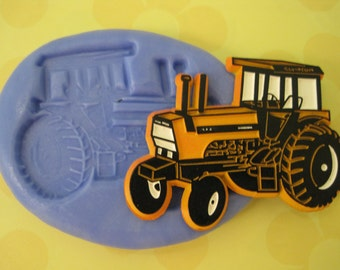 Tractor Mold - Tractor Silicone Mold - Food Safe Molds - Fondant Molds - Resin Molds - Cake Decorating Molds - Silicone Molds - Moulds