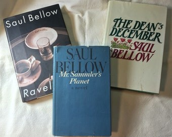 Saul Bellow - Three First Editions