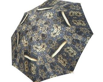 Umbrella, Mandala Umbrella, Festival Umbrella, Visionary Artist, Beach Umbrella, Unique Umbrella, Shade Umbrella, Fractal Mandala Umbrella