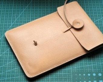 Pattern template  case ipad mini Leather handmade