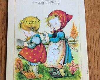 Vintage Little Children Birthday Cards