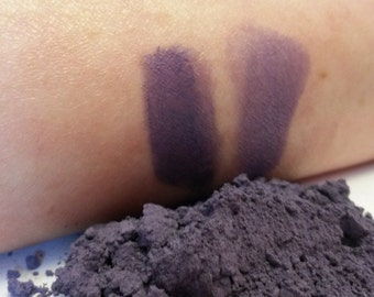 Galaxy Purple loose powder mineral eyeshadow 5 grams