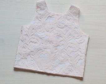 Lace Girls Top