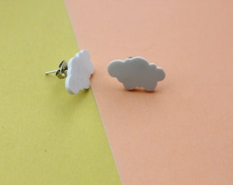 Chips clouds / Earrings clouds