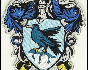 RAVENCLAW HARRY POTTER Hogwarts Slytherin Patch High Quality Iron/Sew On Us Seller Free Shipping