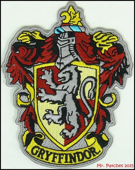Gryffindor harry potter hogwarts slytherin patch high quality - Gryffindor crest high resolution ...